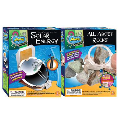 Solar Energy/All About Rocks Science Kit Combo Pack