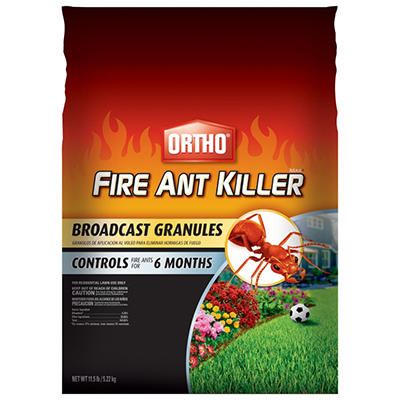 Ortho MAX Fire Ant Killer Broadcast Granules - 11.5 lb. bag