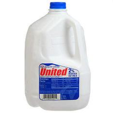 United Dairy 2% Milk  (1 gal.)