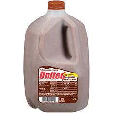 United Dairy 1% Low Fat Chocolate Milk (1 gal.)
