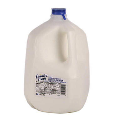 Country Fresh Reduced Fat Milk - 1 gallon jug