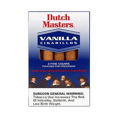 Dutch Masters Cigarillo - Vanilla - 5/25 pk