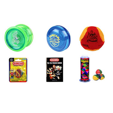 Duncan� Beginner Yo-Yo & Skill Toy Set - 6 pc.