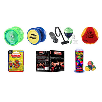 Duncan® Intermediate Yo-Yo & Skill Toy Set - 7 pc.
