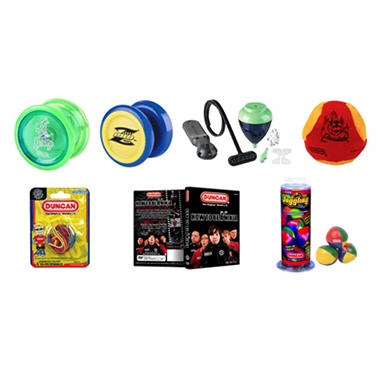 Duncan� Intermediate Yo-Yo & Skill Toy Set - 7 pc.
