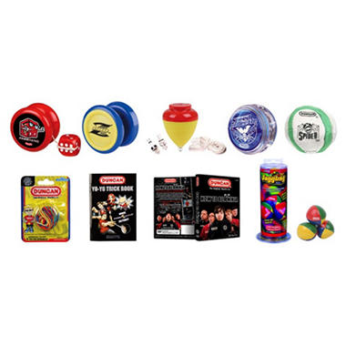 Duncan Advanced Yo-Yo & Skill Toy Set - 9 pc.