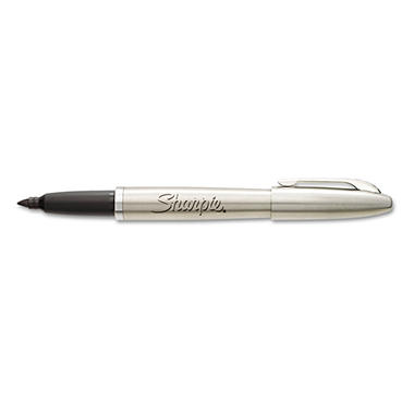 Sharpie Stainless Steel Fine Tip Black Permanent Marker