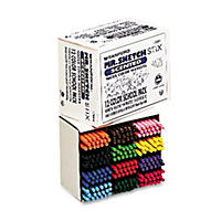 Mr. Sketch Scented Stix Watercolor Markers, Assorted Colors (Fine, 216 ct.)