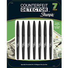 Sharpie Counterfeit Detector Pens - 7 Pack