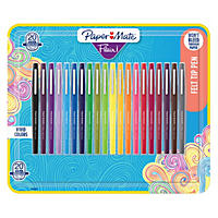 Paper Mate Flair Pens, Assorted Colors, Pack of 20