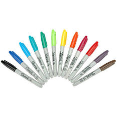 Sharpie Permanent Marker Fine Point Assortment - 1