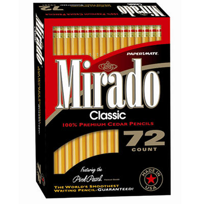 Paper Mate Mirado Woodcase Pencils - 72 Pack