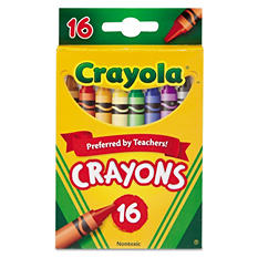 Crayola - Classic Color Crayons - 16 count
