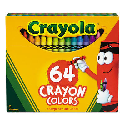 Crayola - Classic Color Pack Crayons - 64 Colors/Box
