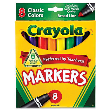 Crayola Classic Colors Markers