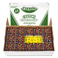 Crayola Classpack Crayons, 64 Colors, 832 Total Crayons