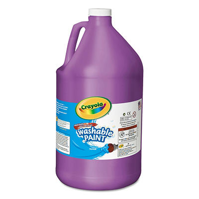 Crayola - Washable Paint, Violet -  1 gal