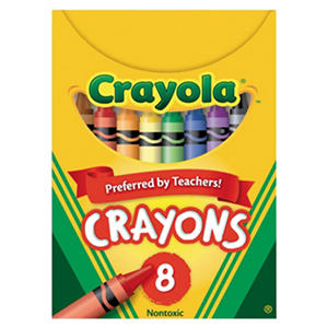Crayola Classic Color Crayons, Tuck Box, 8 Colors per Box