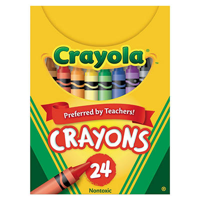Classic Color Crayons - 24 set
