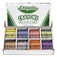 Crayola Classpack Regular Crayons, 50 Each of 8 Colors, 400 Pack