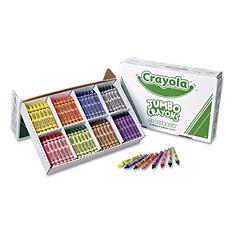 Crayola - Jumbo Classpack Crayons, 25 Each of 8 Colors -  200/Set