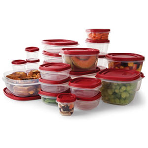 Rubbermaid Easy Find Lids Food Storage Set - 50-piece
