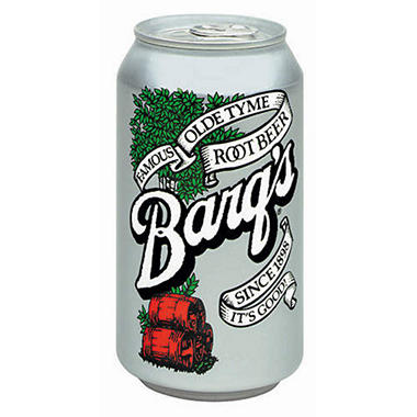 Barq's Root Beer - 12 oz. cans - 24 pk.