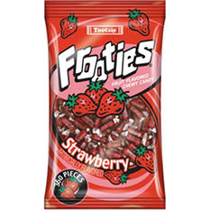 Frooties Strawberry Chewy Candy - 360 ct.
