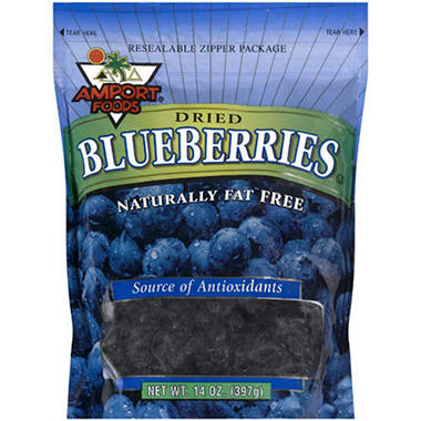 Amport® Foods Dried Blueberries - 14oz