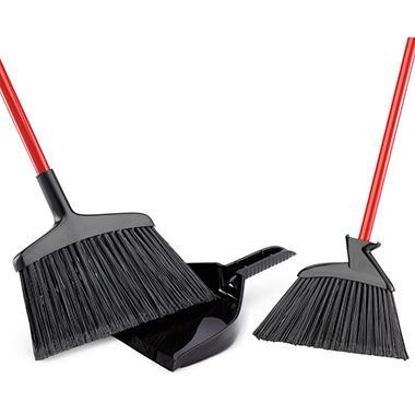 Libman 2 Brooms With Dustpan Set Sam S Club