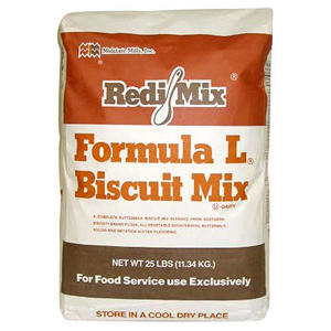 BISCUIT MIX 25 LB