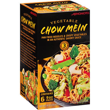 Ajinomoto Vegetable Chow Mein (54 oz.)
