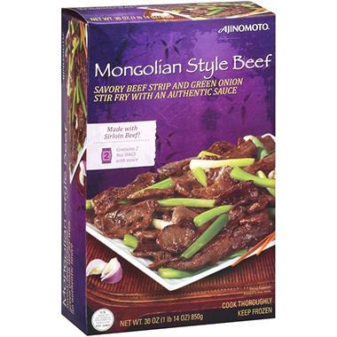 Ajinomoto® Mongolian Style Beef - 2/9 oz. bags