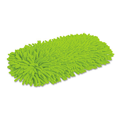 Quickie - Home Pro Soft & Swivel Dust Mop Refill, Microfiber/Chenille -  Green