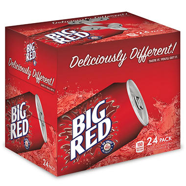 Big Red Soda, 24PK 12OZ CAN