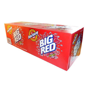 Big Red Soda - 12 oz. cans - 12 pk.