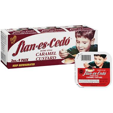 flan-es-Cedó™ Caramel Custard - 9/3 oz.