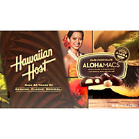 Hawaiian Host AlohaMacs Dark Chocolate Macadamia Nuts (6 oz. box, 6 ct.)