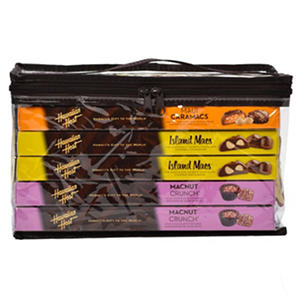 Hawaiian Host Chocolate Macadamia Assortment, Island Originals (6 boxes)