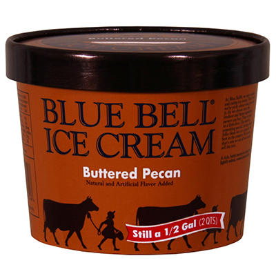 Blue Bell Ice Cream (64 oz.)