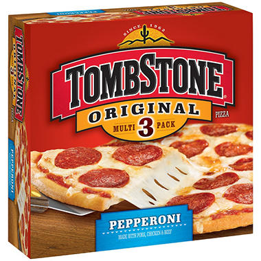 TombStone® Original Pepperoni Pizza - 3 ct.