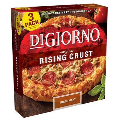 DiGiorno® Rising Crust Three Meat Pizza - 30.5 oz. - 3 ct.