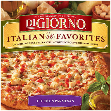 DiGiorno Italian Style Favorites Chicken Parmesan Pizza - 2 ct. - 27.5 oz.