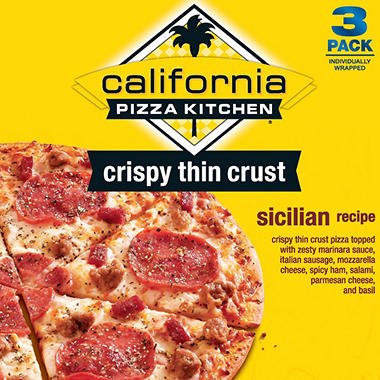 California Pizza Kitchen Sicilian Pizza - 3 pk.