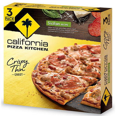 California Pizza Kitchen Sicilian Pizza (46.5 oz., 3 pk.)