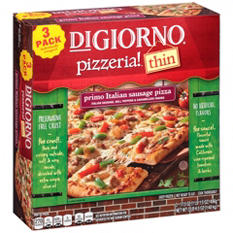 DiGiorno Pizzeria Thin Primo Italian Sausage (52.5 oz., 3 ct.)