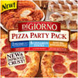 DiGiorno® Pizza Party Pack - 2 Pizzas,Cinnamon Breadsticks, and Honey BBQ Wyngz