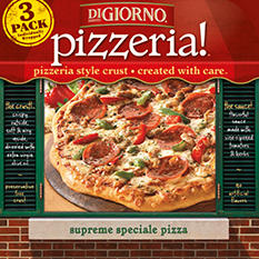 DIGIORNO PIZZERIA! Supreme Speciale Pizza (21.3 oz. box, 3 pk.)
