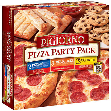 DiGiorno® Pizza Party Pack