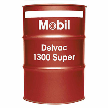 Mobil Delvac 1300 Super 15W-40 Motor Oil - 55 Gal. Drum